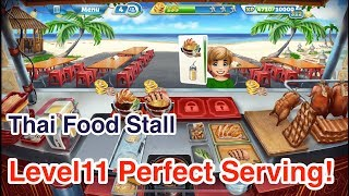 New!!!【Cooking Fever】Thai Food Stall Level11 3Stars