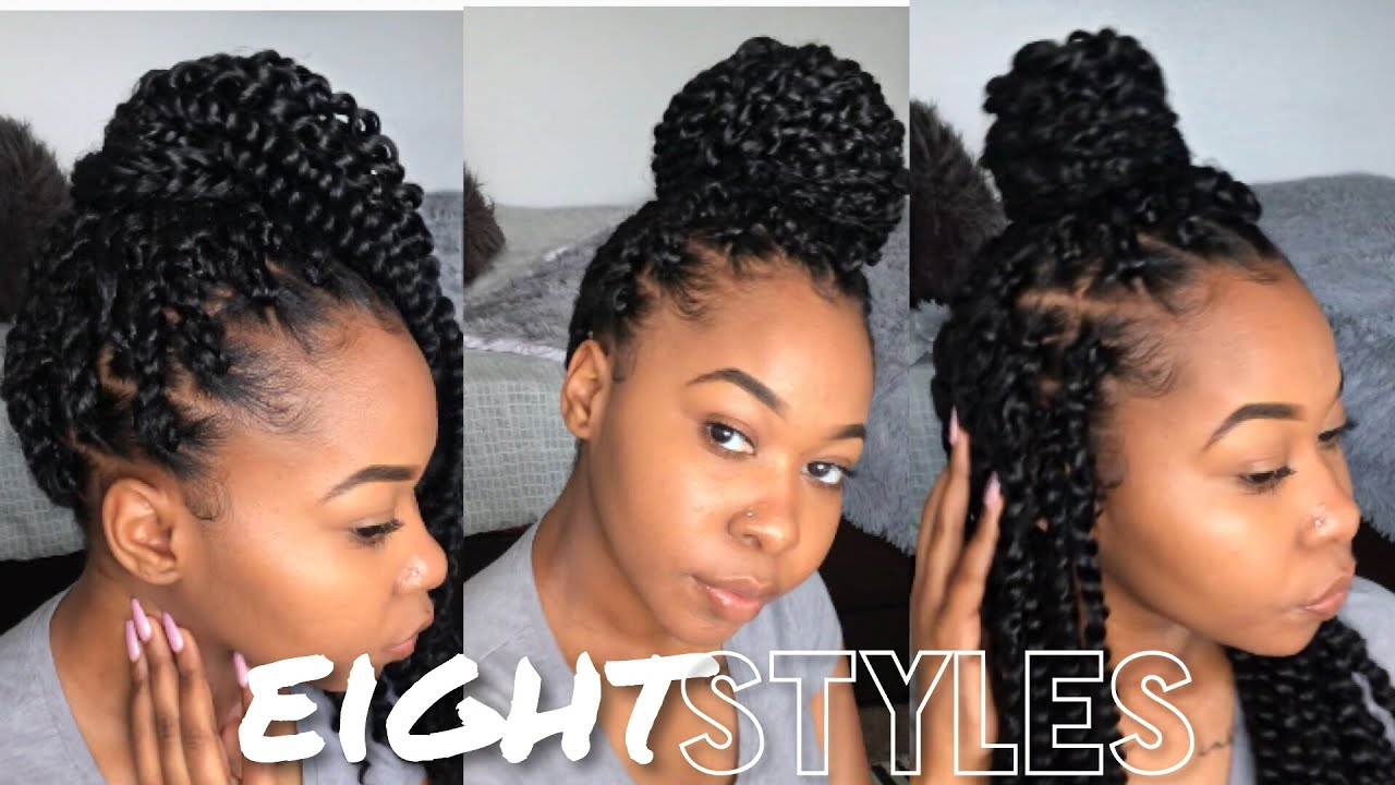 How To Style Passion Twist 8 Easy Styles Kinzey Rae