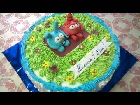 смешарики фото тортик
