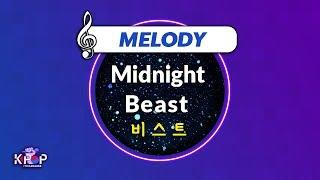 [KPOP MR 노래방] Midnight - 비스트 (With Melody Ver.)ㆍMidnight - B…