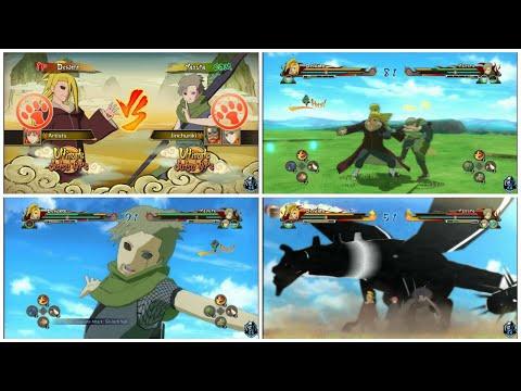 Deidara/Sasori vs Yagura/Yugito/Roshi || Naruto Shippuden Ultimate Ninja Storm Revolution |