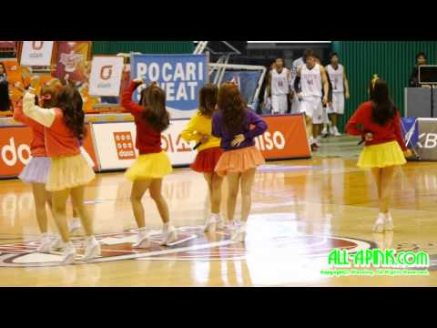 11/10/16 A Pink - It Girl @KT Basketball Opening