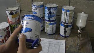 Урок № 26 '' Подложка для краски. Что это ? Как сэкономить: базу, металлик, перл '' ( малярное дело )