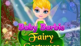 Маленькая барби примеряет сказочные костюмы! Видео для девочек!
