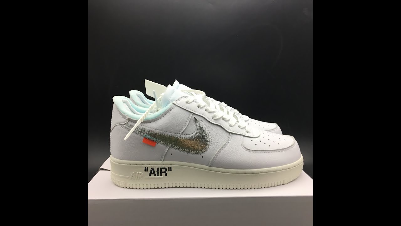 2017 Nike Off White Air Force 1  07 Complexcon Virgil AO4297 100 ... ce9b391b5