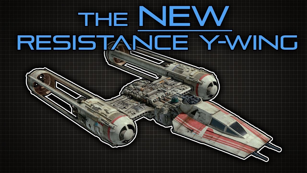 Star Wars New Y Wing Model Details Revealed Youtube