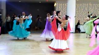 Harvard Invitational Ballroom Dance Competition 2017 Waltz 2 (Standard)