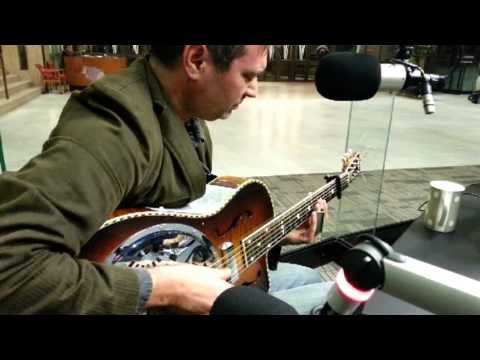 Joel Fafard performs for Fine Music Radio, Cape Town, South Africa - Nov 2012