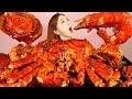 [Mukbang] 역대급 화끈한🔥킹크랩🦀킹타이거새우 전복 해물찜 🦀 KINGCRAB SEAFOODBOIL ASMR Ssoyoung