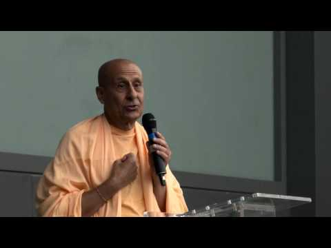 Power of Positive Attitude by Radhanath Swami  @ Hewlett Packard, Houston