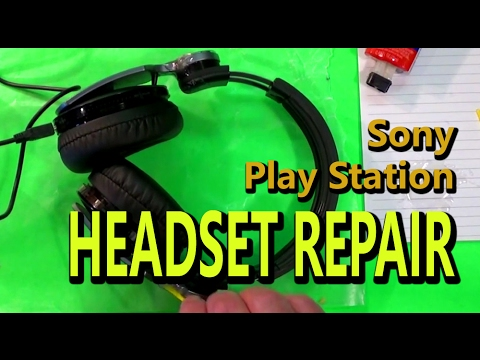 Sony PlayStation Headset Repair Using  Epoxy & Ramblings