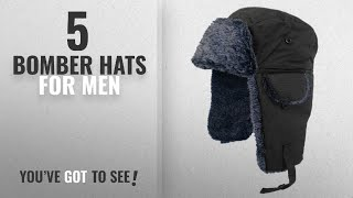 Top 10 Bomber Hats For Men [2018]: Adult Fur Lined Waterproof Trapper Hat