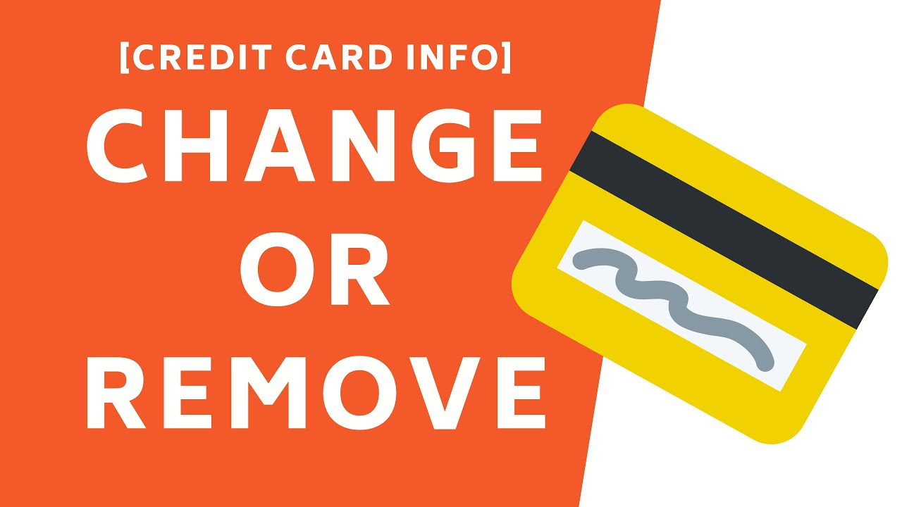 change or remove credit card info from apple id simple method
