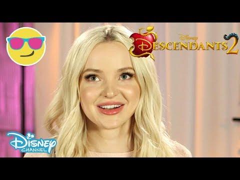 Descendants 2 | Mal by Dove Cameron Interview | Official Disney Channel UK