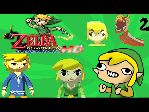 CLEANEST CLOTHES IN THE WORLD!!! (LOZ Wind Waker HD Part 2)