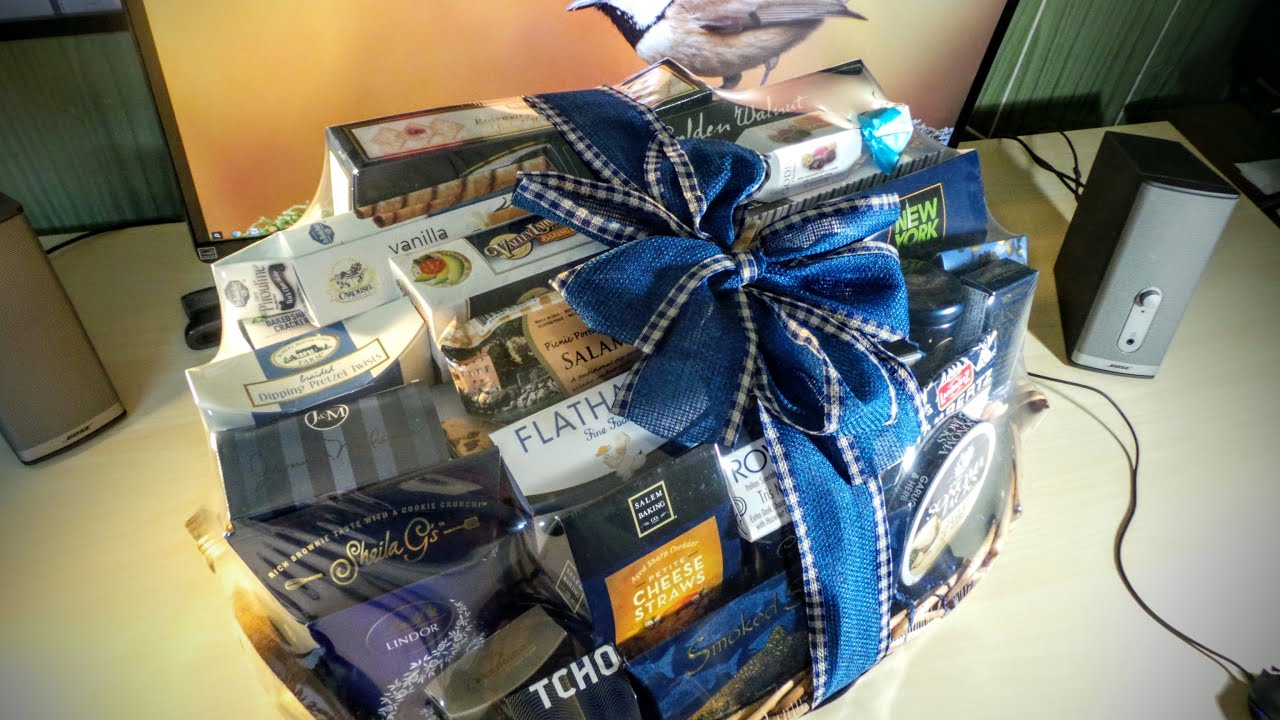 wine country gift basket unboxing great gift idea