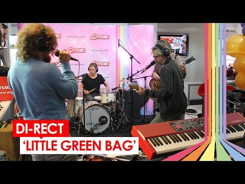 DI-RECT - 'Little Green Bag' (live bij Q-music)