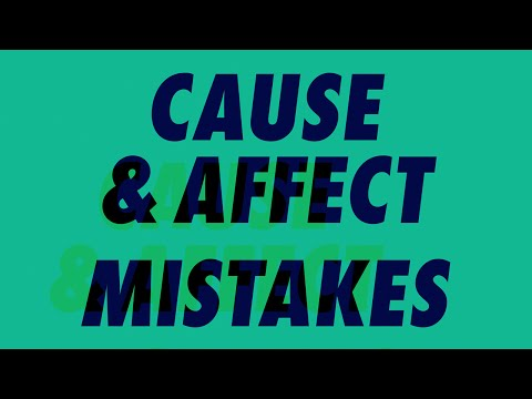 Cause & Affect — Mistakes [Official]