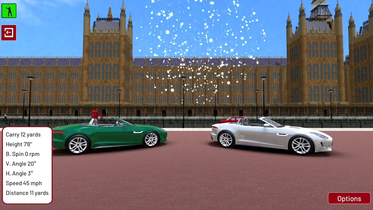Golf Environment - London - Sports Car Challenge