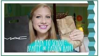 Back to School: Beauty and Fashion Haul! (Free People, Earthbound, Sephora, ect.) Thumbnail