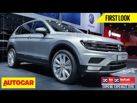Volkswagen Tiguan | First Look | Autocar India | Presented By Kotak Mahindra Prime