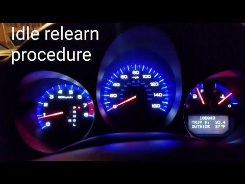 HOW TO DO ECM/PCM IDLE LEARN PROCEDURE