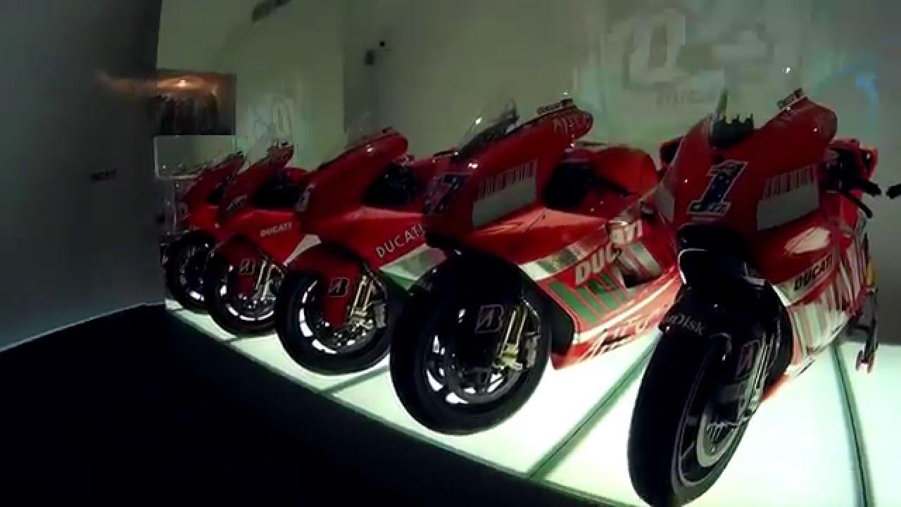 visita velocissima al museo ducati bologna - youtube