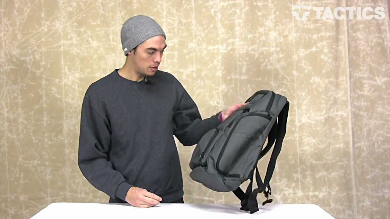 9390d31c99373 Dakine Terminal Backpack Review - Tactics.com - YouTube