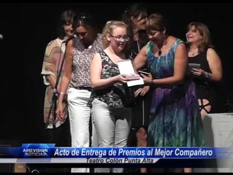 Acto de Entrega de Premios al Mejor Compañero Habla Andrea Vogel