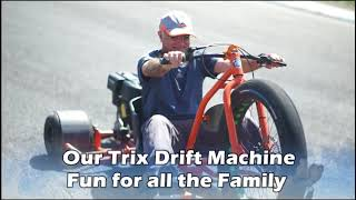 Trike Drift -Test Drive Experience on a Race Track