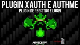 [Tutorial]xAuth e AuthMe - Registro e Login Minecraft =]