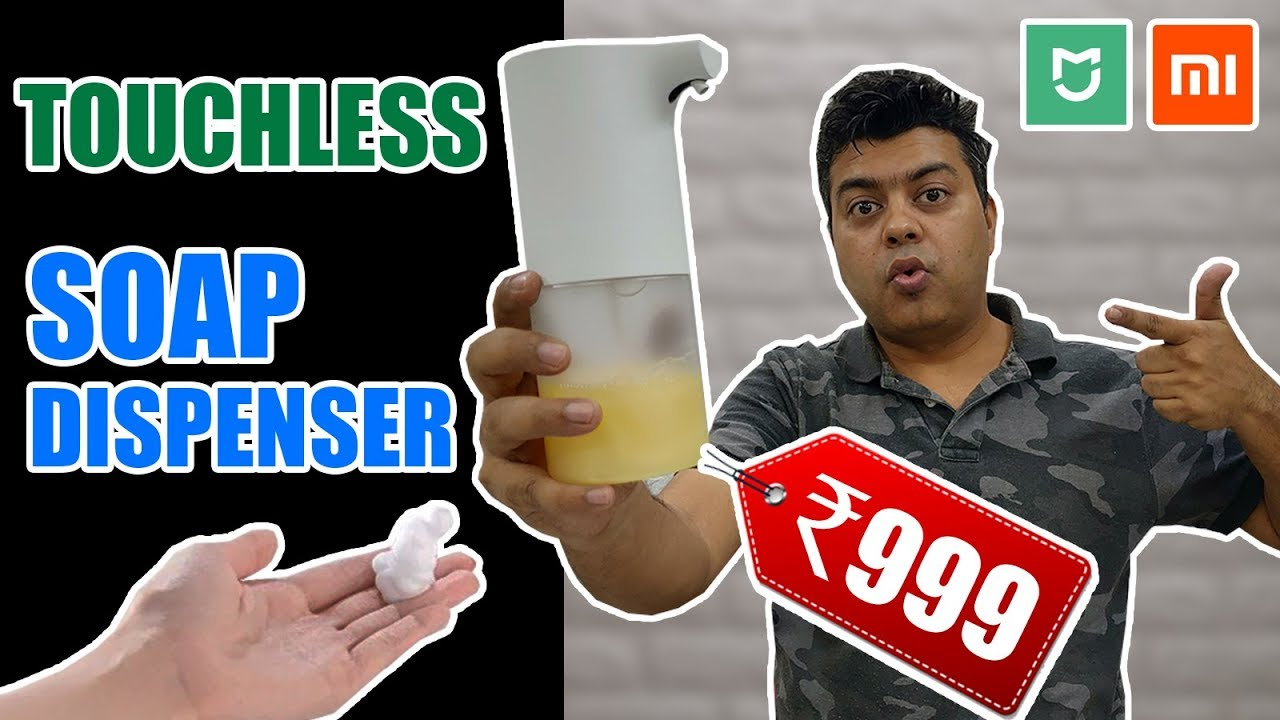 Xiaomi Touch Less Soap Dispenser | Priced Under 1000 INR | Really Useful | Perfect Hygiene