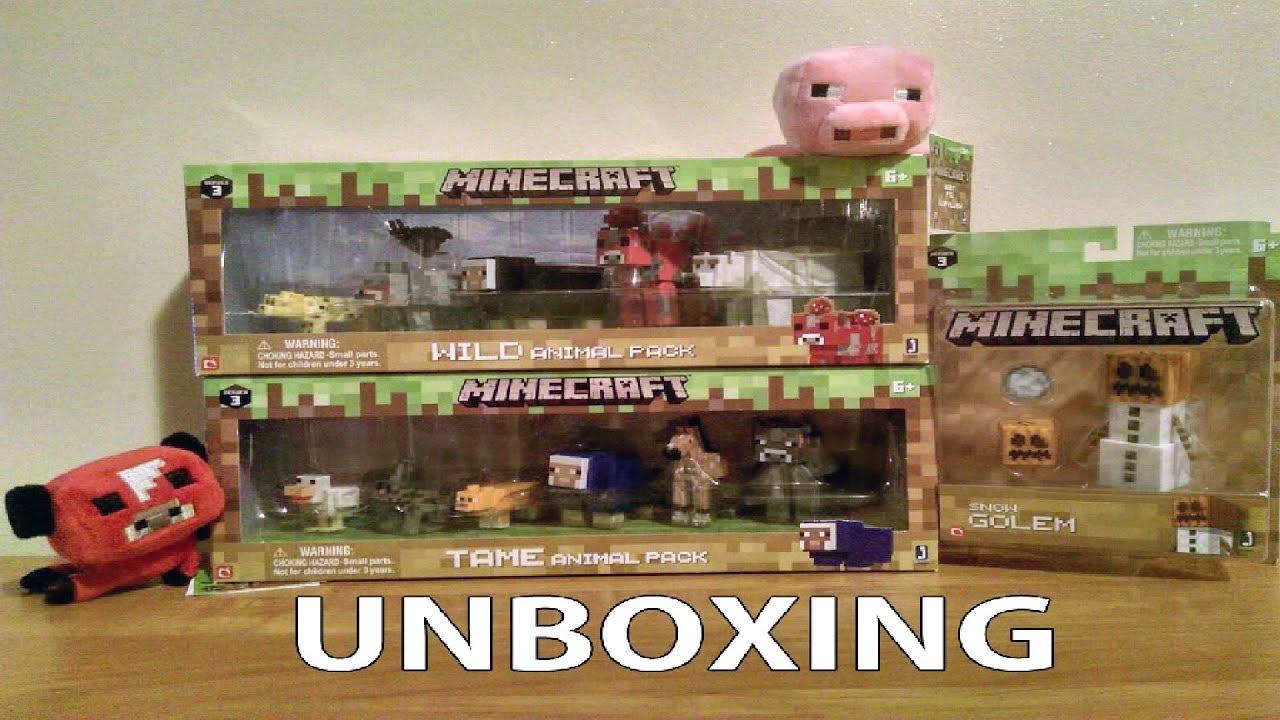 Minecraftowe figurki – Unboxing
