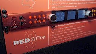 Focusrite Red 8 Pre - NAMM 2017