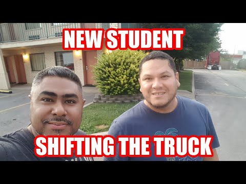 Truck Driving Student - How To Shift The Truck