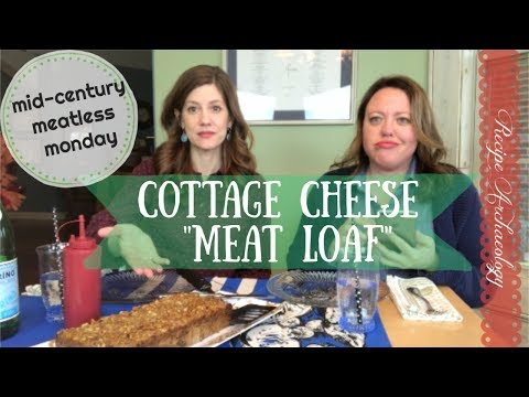 Fan Submission: Cottage Cheese Roast - Meatless Meatloaf