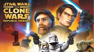 STAR WARS - The Clone Wars - Republic Heroes - Let's Play Walkthrough Part 1 PS3