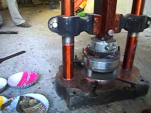 plate pressing machine