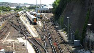 Trains at Lovers Walk Depot, Brighton - 31.05.11 [Part 1/2]