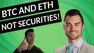 Crypto Market Update June 14, 2018 | BTC & ETH NOT Securities. But XRP...