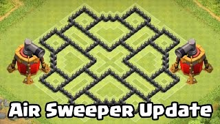 Clash of Clans Air Sweeper TH8 DEFENSE STRATEGY BEST CoC Town Hall 8 FARMING Layout 2015