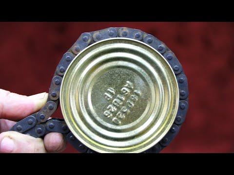 видео: ✔Крутая идея для самоделки из ОБЫЧНОЙ ЦЕПИ ДВИГАТЕЛЯ АВТОМОБИЛЯ