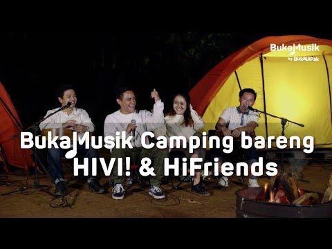 Camping di Gunung Pancar bareng HIVI & HiFriends | BukaMusik