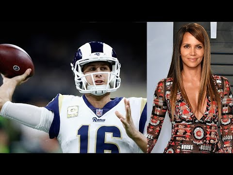 V Mornings - Rams QB Jared Goff Shoots His Shot At Halle Berry With A Play Call!