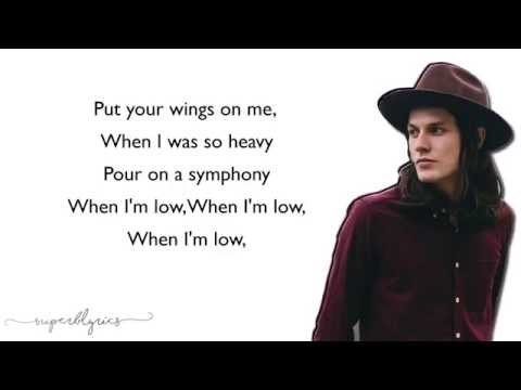 Coldplay - Hymn For The Weekend (Lyrics)(James Bay Cover)