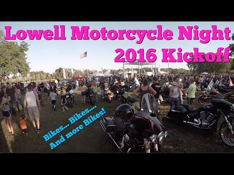 Lowell Motorcycle Night 2016 Kickoff
