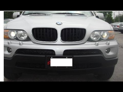 BMW X5 Left door inner handle Replacement - YouTube
