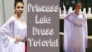 Princess Leia Ceremonial Dress Tutorial