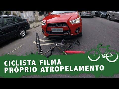 CICLISTA FILMA PRÓPRIO ATROPELAMENTO NO RJ. FALZONI OPINA