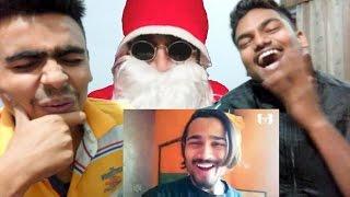BB Ki Vines | Badass Santa- Part 1| REACTION & REVIEW |FT. TurFur Brothers ✔